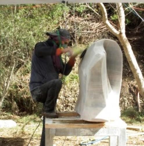 Sculptors at Crystal Lake Day 4, 14 April 2015