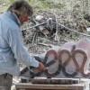 Sculptors at Crystal Lake Day 8, 18 April 2015
