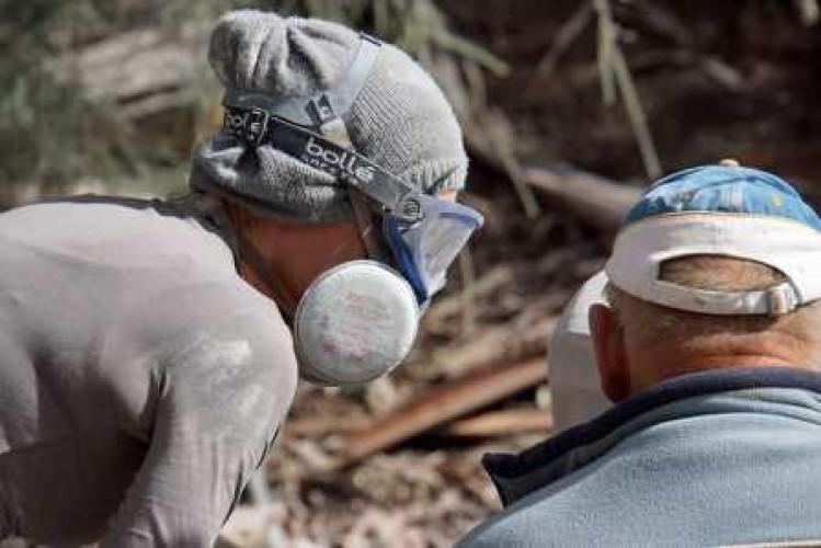 Sculptors at Crystal Lake Day 2, 12 April 2015