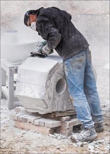 Sculptors at Crystal Lake Day 6, 16 April 2015